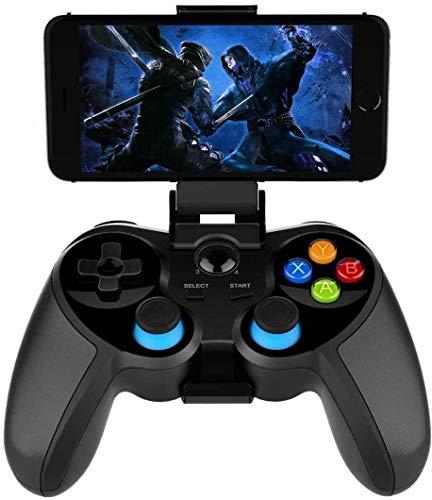 YUYANDE Controlador de Juegos móviles, Gamepad de Bluetooth, Joystick de Juego Adecuado para/Android/PC/Caja de TV, Juego de Juegos más Populares Garab