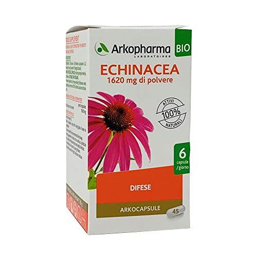 Arkopharma Arkocapsule - Echinacea Bio Integratore Alimentare, 45capsule