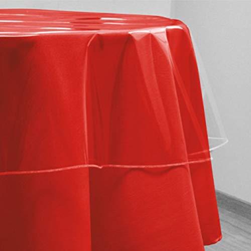 Rond tafelkleed transparant diameter. 180 cm CRISTAL