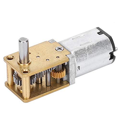 Motor micro de reducción de velocidad, motor eléctrico CW/CCW del engranaje de...