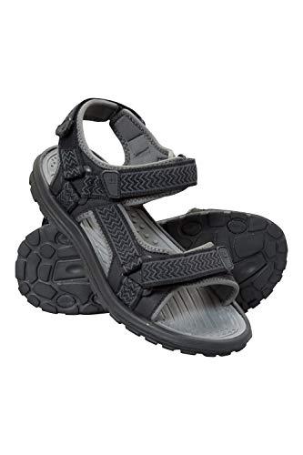 Mountain Warehouse Sandalias Crete para Hombre - Zapatos de Verano Resistentes, Agarre Firme, Plantilla Acolchada, Forro de Neopreno - para Viajar y Caminar en Primavera Gris 41