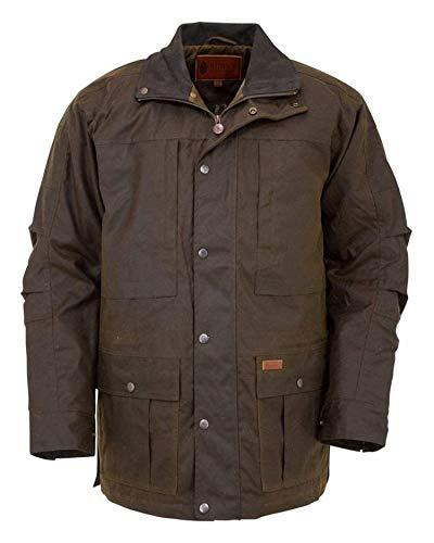 Outback Trading Co Men's Co. Deer Hunter Oilskin Jacket Bronze X-Large