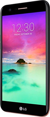 LG Mobile K10 (2017) Smartphone (13,46 cm (5,2 Zoll) IPS Display,16GB Speicher, Android 7.0) schwarz