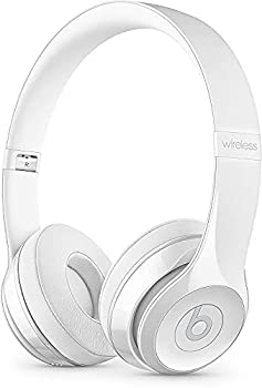 Beats Solo3 Wireless On-Ear Headphones - Gloss White  Renewed
