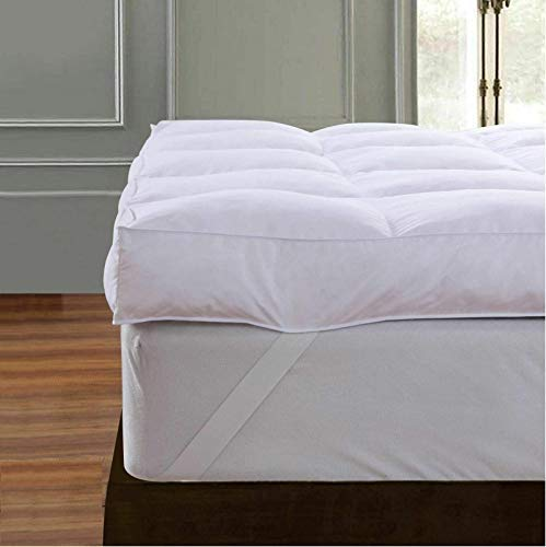 Direct121 products ltd GOOSE FEATHER & DOWN MATTRESS TOPPER ENHANCER 12.5CM 5' DOUBLE EXTRA DEEP 100%