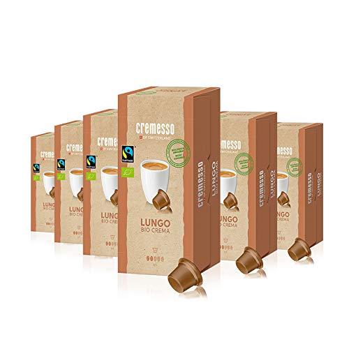 Cremesso Lungo Bio Crema, 16 Kapseln, 6er Pack