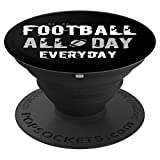 Football Pop Socket Phone Cover Pop Fantasy Sports Fan Gifts PopSockets Grip and Stand for Phones and Tablets