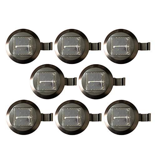 B Baosity 8 * Luz Led Tira Luz Led/Sensor Automático,Dimensiones: 11.5X11.5X3Cm -...