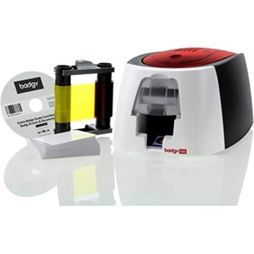 Badgy 100 - Plastikkartendrucker - Farbe, B12U0000RS, 50 karten
