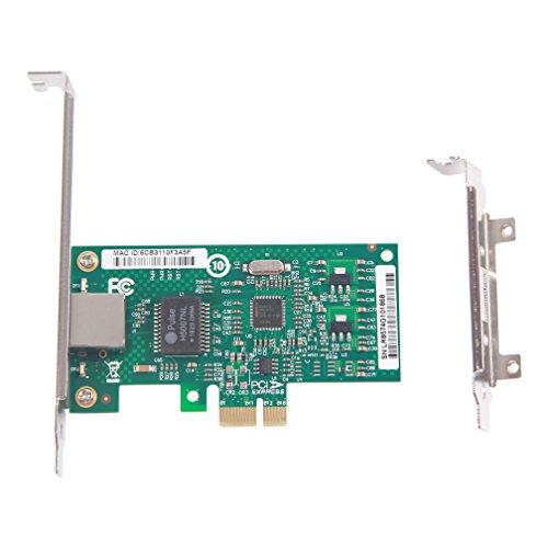 10Gtek® Gigabit PCIE Desktop Netzwerkkarte für Intel EXPI9301CT -82574L Chip, Single RJ45 Port, 1Gbit PCI Express Ethernet LAN Card, 10/100/1000Mbps NIC für Windows Server, Win8, 10 and Linux, MEHRWEG