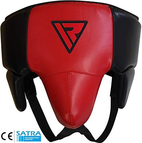 RDX MMA Tiefschutz Kampfsport Boxen Herren Suspensorium Unterleibschutz Karate Kickboxen (MEHRWEG)
