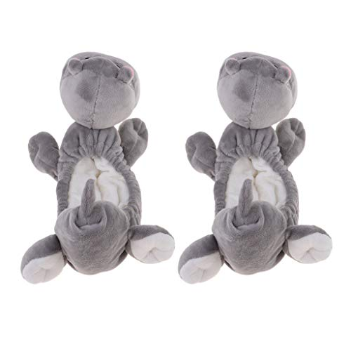 Terry Cloth Hippo - 8