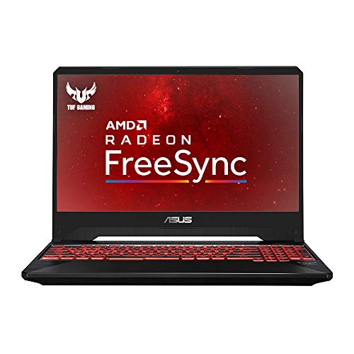 ASUS TUF FX505DY-BQ001T 15.6 Inch Full HD Slim Bezel Gaming Laptop - (Black) (AMD Ryzen R5-3550H Quad-Core, RX560 4 GB, 8 GB RAM, 128 GB SSD + 1 TB HDD Storage, Windows 10)