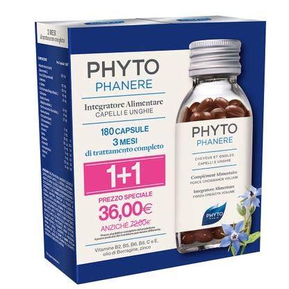 Phyto Phytophanere Stärkung Haare und Nägel Nahrungsergänzung 90 + 90 Kapseln