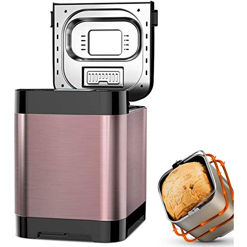 Check Out This WLHER Full-Automatic Bread Maker, Automatic Yeast Fruit Nut Dispenser, 360 ° Stereo ...