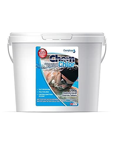 5Kg Multifunctional Chlorine Tablets 200g - Swimming Pool, Hot Tub, Spa Chlorine