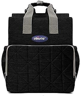 حقيبة شيكو لحمل اغراض الطفل - أسود