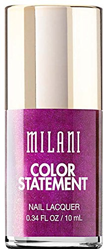 Milani Color Statement Nail Lacquer, 14 Sugar Plum, 0.34 fl. oz. by Milani