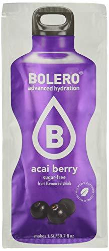Bolero Bebida Instantánea Sabor Bayas de Acai - Paquete de 24 x 9 gr ( total: 216 gramos)