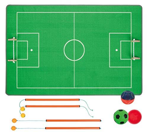 Unbekannt Fußballgolf / Fußballteppich aus strapazierfähiger Schlingenware / Teppichmaß: 150 x 100 cm / für 2 - 4 Spieler ab 4 Jahre