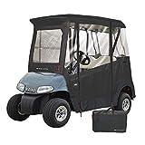 GreenLine EZ-GO Golf Cart Enclosure by Eevelle, 2 Passenger Heavy Duty 300D