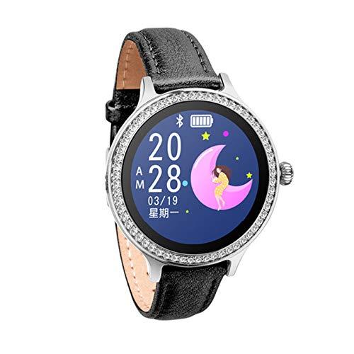 LHL SmartWatch, IP68 Impermeable, M8 Mulbanda de Las señoras, Monitor de Ritmo cardíaco, Pulsera de Fitness Pulsera SmartWatch Android iOS,A