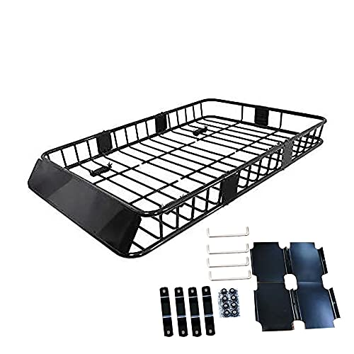 labwork 64 inch Universal Roof Rack w/Extension Cargo SUV Top...