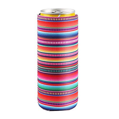 WDFDZSW 5packs / 12 oz Flaco Puede refrigerador Bolsa, la Cerveza del Vino Bolso más Fresco