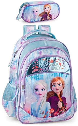 Disney La Reine des Neiges Sac à dos et trousse pour...