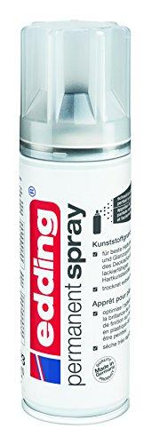 edding 5200-998 - Spray de pintura acrílica de 200 ml, secado rápido sin burbujas, imprimación plástica incolora