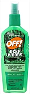 Off Deep Woods Insect Repellent VII44; Pack Of 3