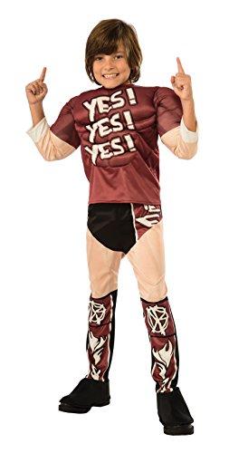 WWE Muscle Chest Daniel Bryan Wrestler Costume Child Medium