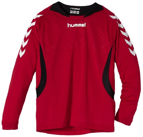 hummel Kinder Trikot Team Player Jersey Longsleeve, True Red Ksc, 122/128 (6-8)