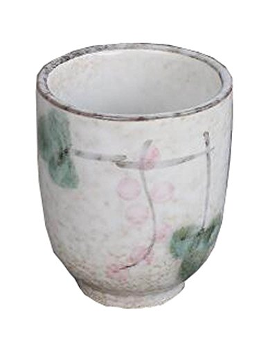 Black Temptation Juego de 2 Tazas de cerámica de Estilo japonés Taza de té Flores pintadas a Mano [N]