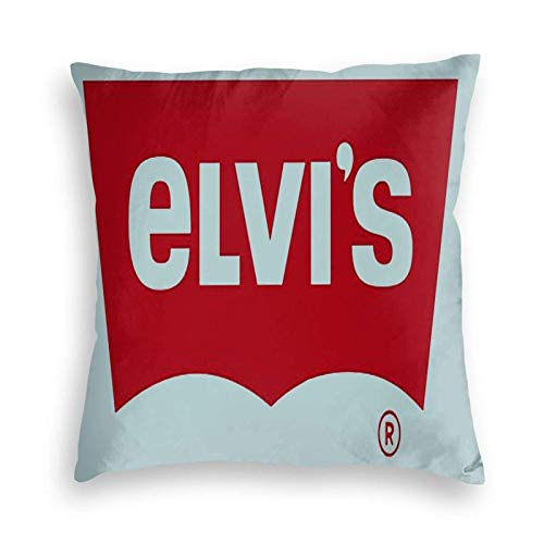 Funda de Almohada Elvis Birthday Pullover Hoodie £¨1£ Velvet Pillowcase Floor Pillowcase Sofa Cushion Cushion Cover Backrest Over Seat Cushion Interior