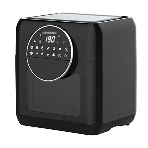 Horno electrico de sobremesa Mini Horno Air Fryer Hogar Máquina para hornear pequeña Máquina de Pequeña Capacidad 10L Panel de operación inteligente Fácil de limpiar Cocina Cocina 220V Pequeño ayudant
