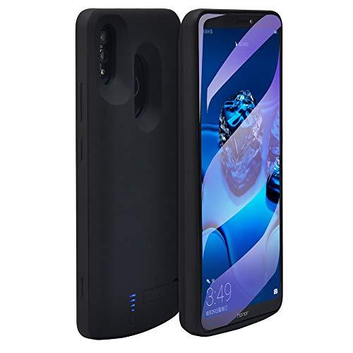 Huawei Honor Note 10 Battery Case, External 6000mAh Backup Power Bank Pack Battery,Portable Power Charger Charging Case for Huawei Honor Note 10 (Black)