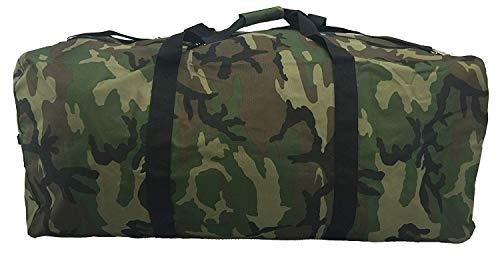 Heavy Duty Cargo Duffel Large Sport Gear Drum Set Equipment Hardware Travel Bag Rooftop Rack Bag 36 Inch Camo Traveling Bags