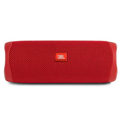 Alto-falante JBL FLIP 5 portátil e à prova d'água com Bluetooth Vermelha