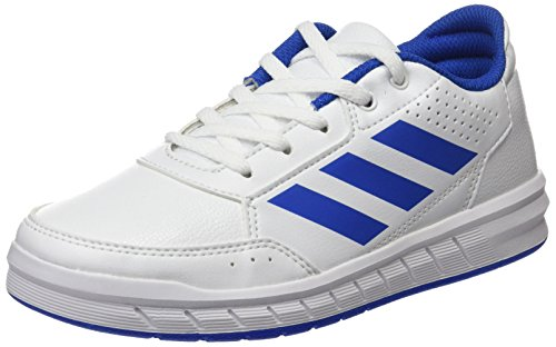 adidas AltaSport K, Chaussures de Fitness Mixte, Blanc (Ftwbla/Azul/Ftwbla 000), 38 2/3 EU