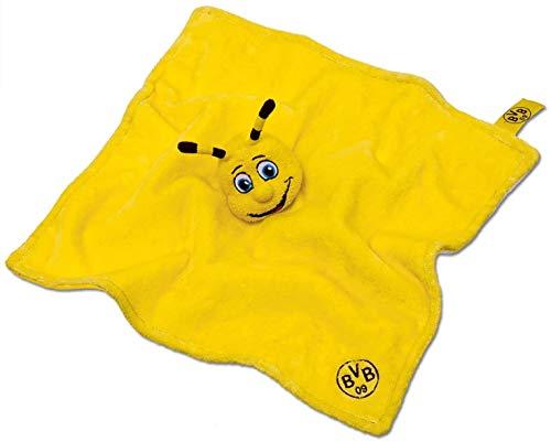 BVB 09 Borussia Dortmund Emma Doudou Mouchoir 35 x 35 cm bébé serviette Doudou Chiffon