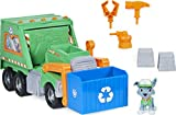 Paw Patrol, Rocky's Reuse It Deluxe Truck with Collectible Figure and 3 Tools, for Kids Aged 3 and up