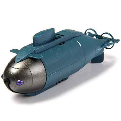 XLST Mini RC Boot Ferngesteuertes Boot Control Racing U-Boot RC Spielzeug Mit 40Mhz Sender, Geschenkspielzeug Für Erwachsene Und Kinder,Blau