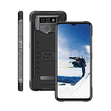 (6.53inch IPS Full-Screen), X6Pro Android Smartphone, 3G-WCDMA : 850/2100/1900MHZ SIM Card Band, 2GB RAM 16GB ROM, Unlocked Cell Phones ,5MP+5MP,3100mAh, mobilephone ,Rear Fingerprint Unlock