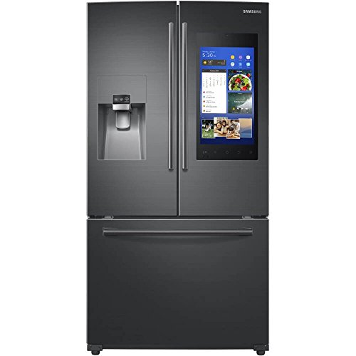 Samsung RF265BEAESG 24.2 cu.ft. Black Stainless Steel Built-In French Door Refrigerator