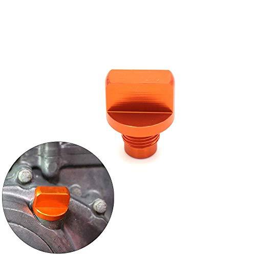 HANLING- motorolie stekker voor KTM 150 200 390 oranje kleur aluminium filter afdekkap