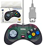 Official SEGA Licensed Controller Original Grade Quality Compatible with Original SEGA Saturn Consoles 10 Foot Cable Length