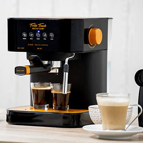 ECODE Cafetera Espresso Forte Touch