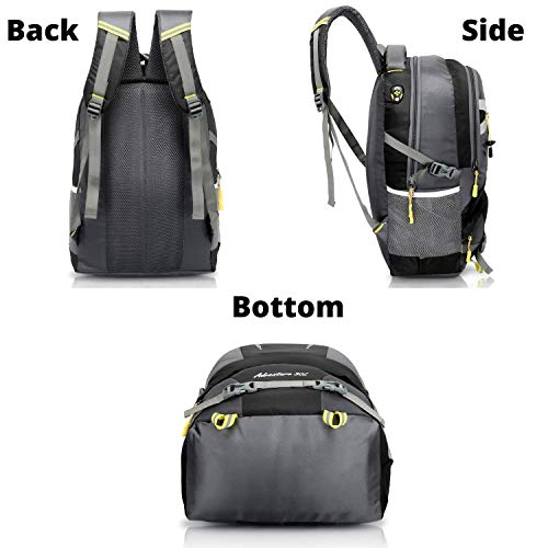 Martucci 15.6 inch 30 L Casual Waterproof Laptop Backpack/Office Bag/School Bag/College Bag/Business Bag/Unisex Travel Backpack(Black)