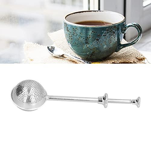 Jinyi Colador de té, infusor de té Mango cómodo Antióxido Fácil operación para Amantes del té para Amigos para un Regalo práctico